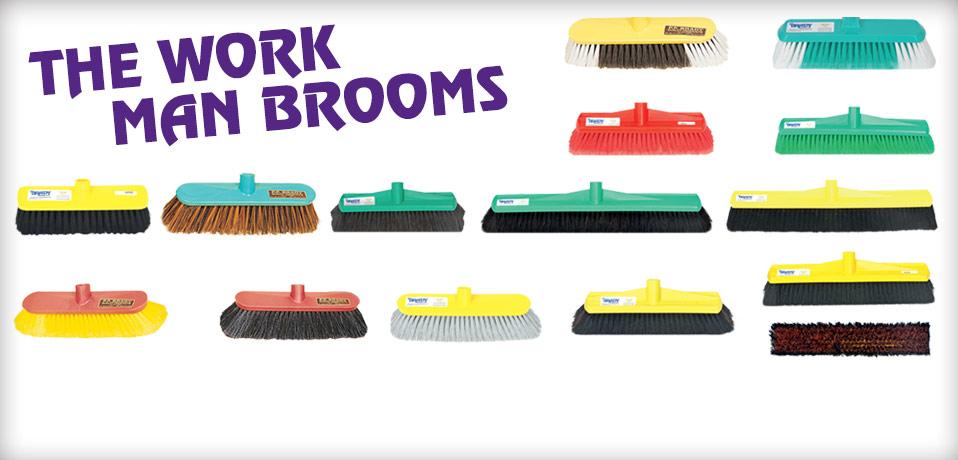 PF Brady - Broom & Brush Manufacturers, Sydney  High Quality
